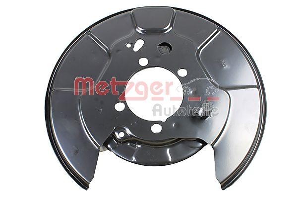 Metzger (6115260) Spritzblech, Ankerblech Bremsscheibe hinten rechts für TOYOTA